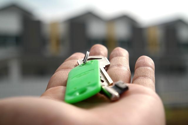 klíče na dlani