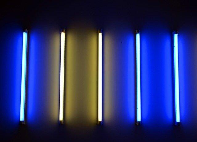 neonové světla