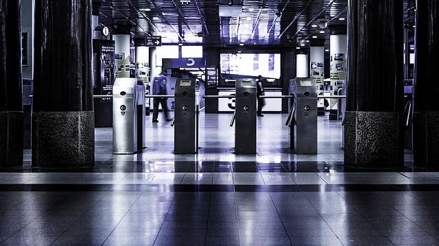 vstup na letišti