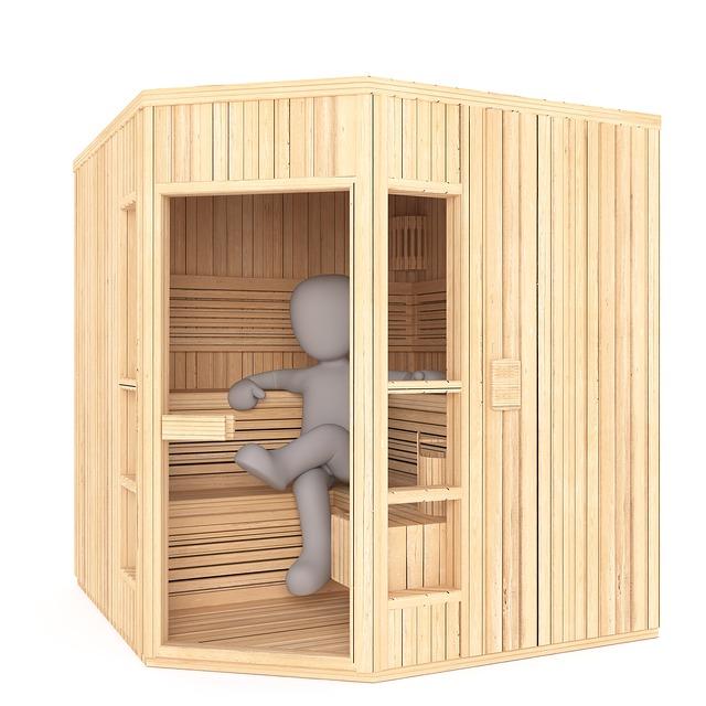 panáček v sauně